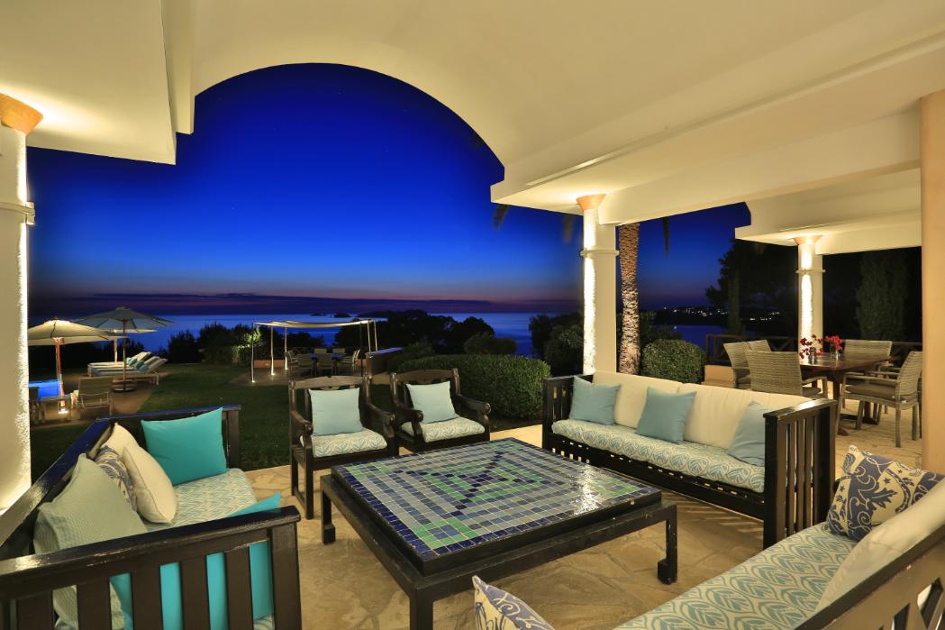 The most luxury Villa on Ibiza in Cala Moli with private mooring