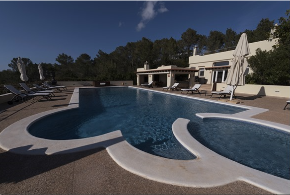 Villa Benimussa with views of the sea and landscape