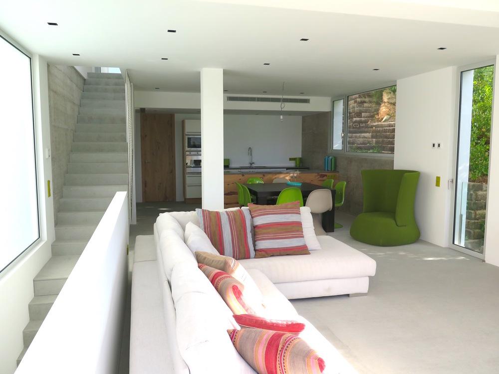 New house overlooking Cala Llonga beach