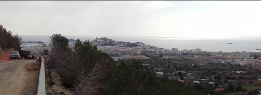 The last plot with amazing views to Ibiza and Playa den Bossa