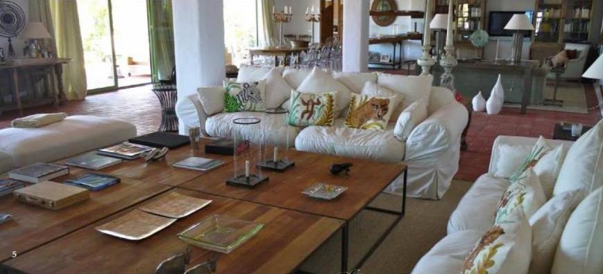 Luxury villa in San Miquell with stunning sea views