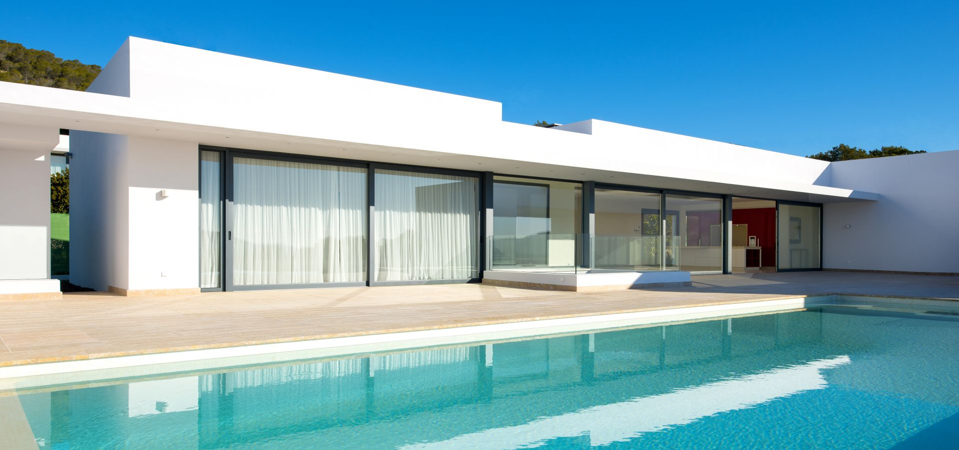 Modern luxury villa in Ibiza's dream location