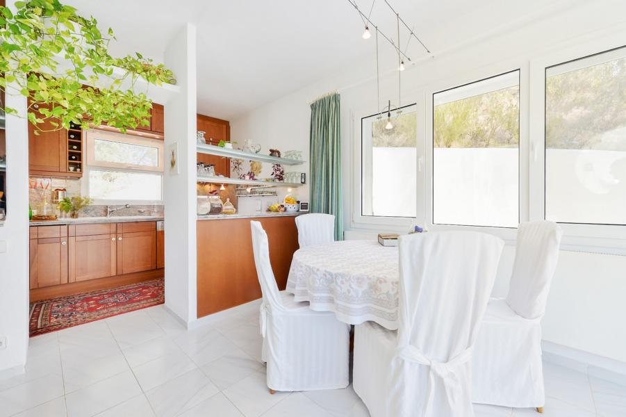 Villa with stunning views to the sea in a very quiet and unspoiled places in Ibiza