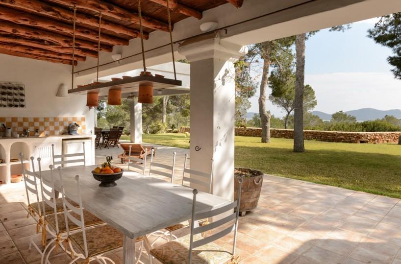 Villa with Privacy and sea views in Sa Caleta Cala Jondal