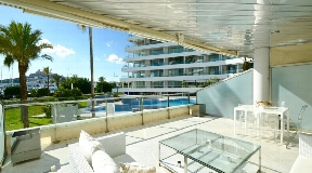 Modern apartment with beautiful views in Marina Botafoch with great views