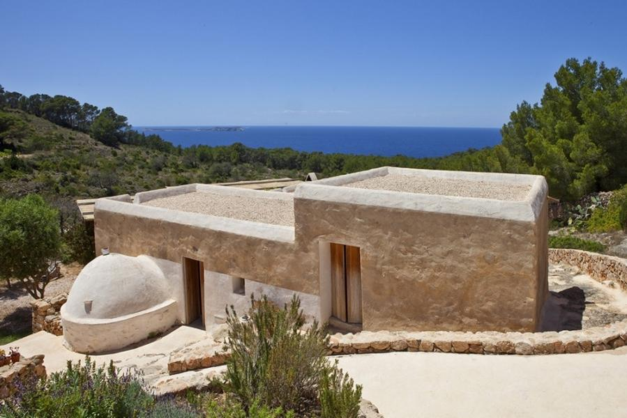 Old Ibizan finca with great sea view and sunset