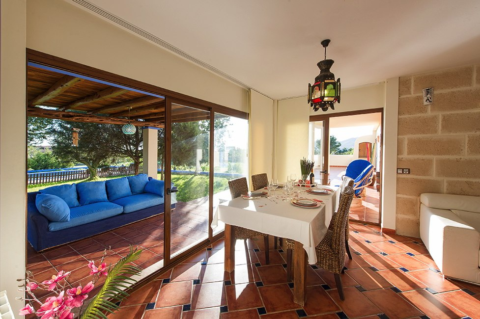 Attractive Villa in Jesús at 5 minutes in car of the beach of Talamanca, Ibiza