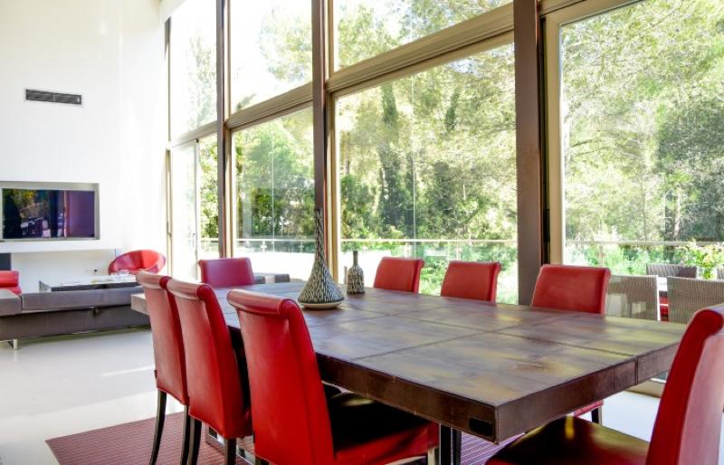 Modern villa for sale in Can Furnet near to Ibiza