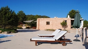 Charming villa in Cala Tarida, Ibiza