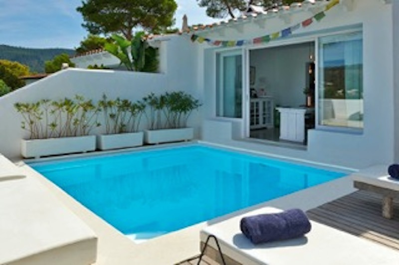 Newly renovated semi-detached house with stunning sea views Cala Vadella