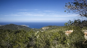 Luxury finca with panoramic and sea views in Sant Juan