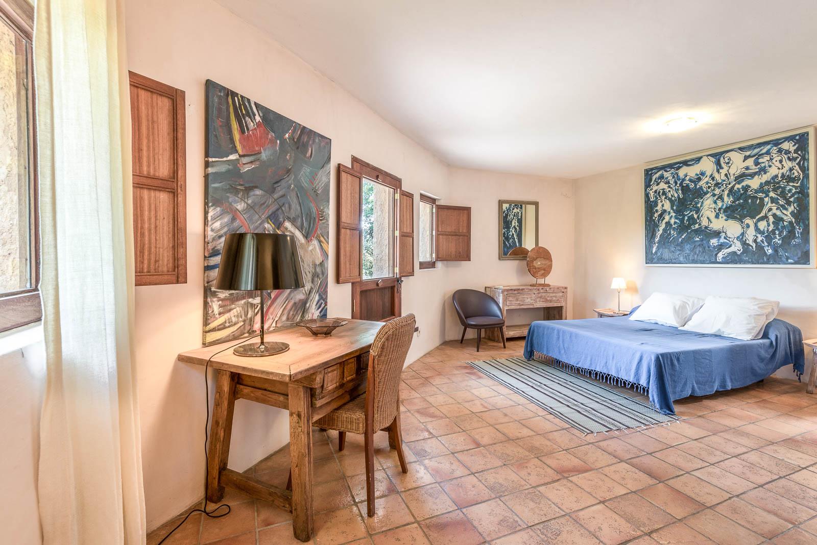 Beautiful finca in Ibiza San Lorenzo with large pool and beautiful garden