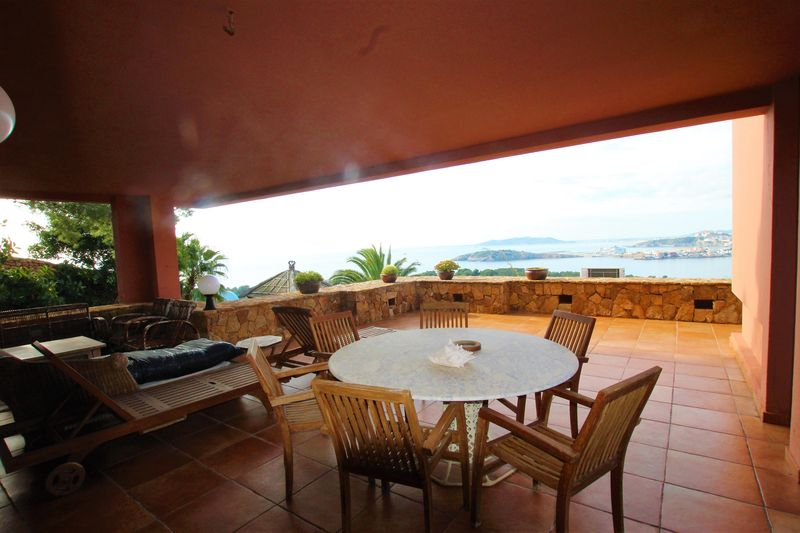 Amazing Villa with best views to Ibiza Formentera and Playa den Bossa
