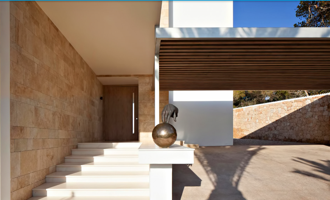 Exclusive and one of the most modern villas on Ibiza for sale
