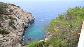 Beautiful villa first line to the sea in Cala Vadella