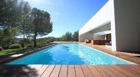 Vip Villa for sale on Ibiza near Aques Bancas