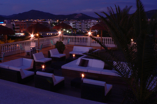 Boutique hotel overlooking the beautiful bay on Mallorca