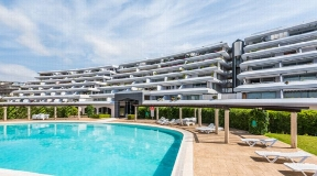 Luxury apartment for sale in Ibiza Marina Botafoch.