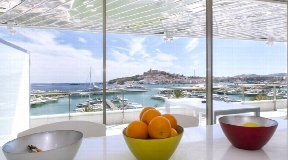 Luxury apartment for sale in Marina Botafoch in Ibiza