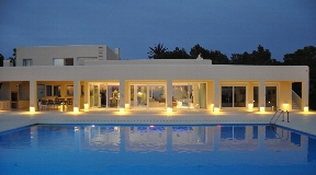 Amazing Villa in Cala Salada on a hill with mega views