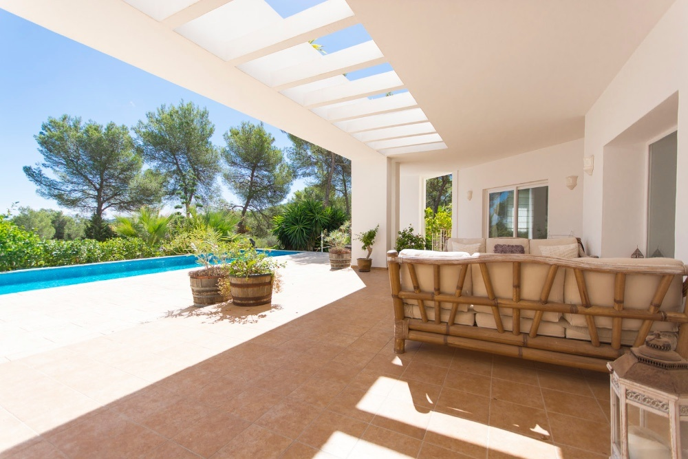 Modern country house in Santa Gertrudis in Ibiza
