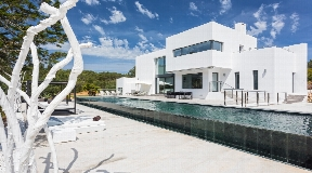 Modern villa in Ibiza -Santa Gertrudis for sale