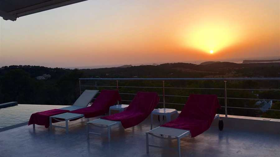 Modern villa with fantastic views in Ibiza Cala Conta