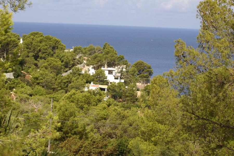 Villa with private access to the sea and with sunset
