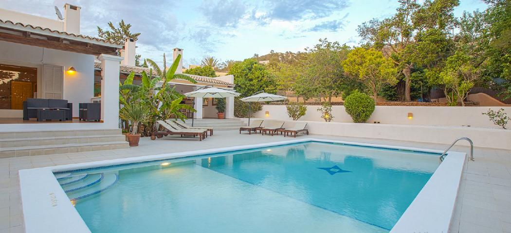 Beautiful villa with tourist license in Jesus Ibiza
