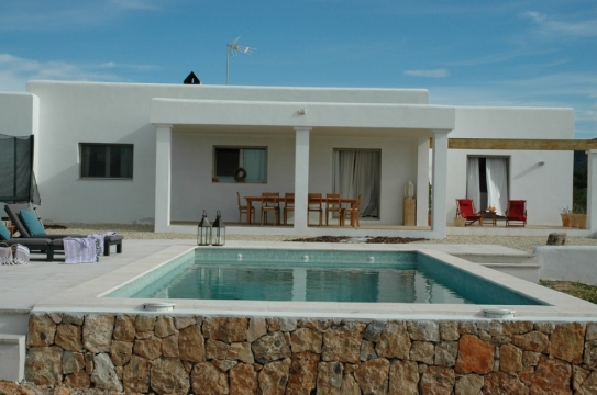Rebuild modern Finca with big garden in Ibiza San Jordi