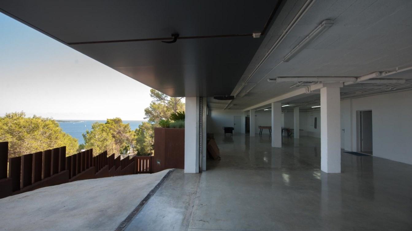 Luxury villa with stunning sea views and the bay of Santa Eulalia