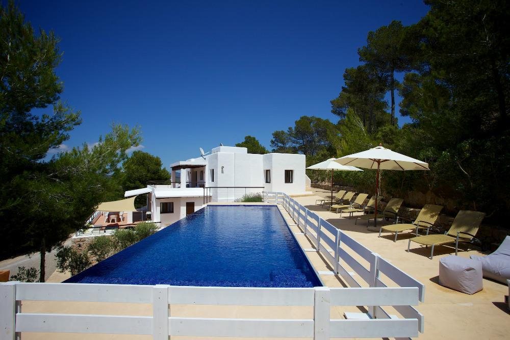 Modern luxury villa with magnificent views in Es Cubells