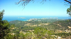 Urban plot in Val Verde Ibiza for sale