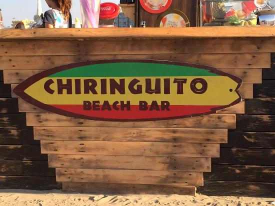 Chiringuito in the north of Ibiza