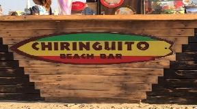 Chiringuito in the north of Ibiza