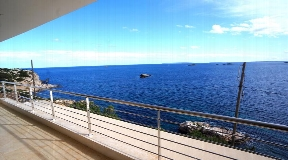 Apartment in Ibiza Dalt Villa front line to the Sea