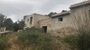 Finca for sale in San Rafael Ibiza for reform