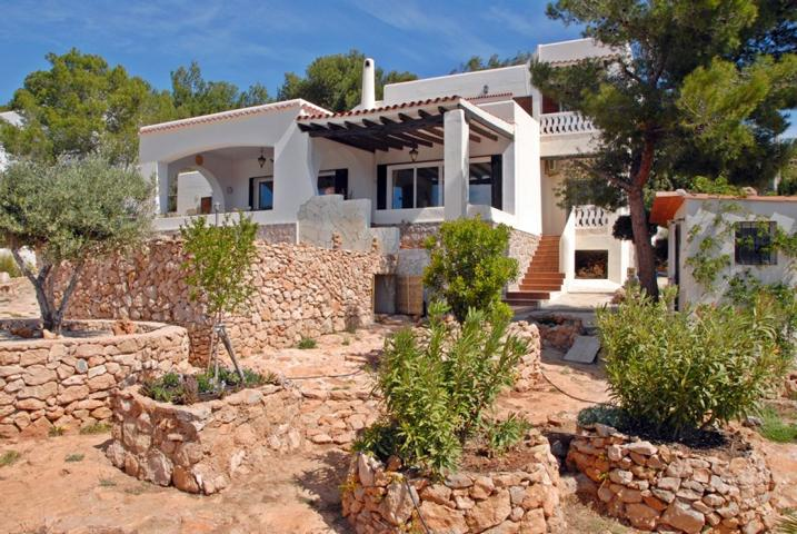 Villa with unique and unobstructable view at Cap Negret - Ibiza