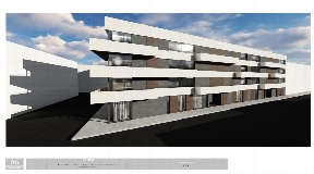 Building land in the center of Santa Eulalia for 63 apartments