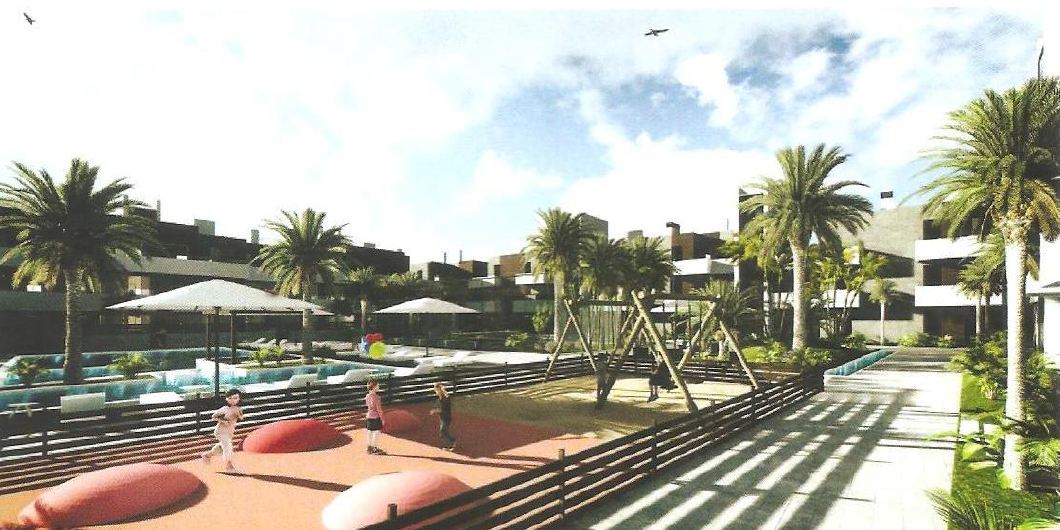Urban plot for Hotel in Santa Eulalia