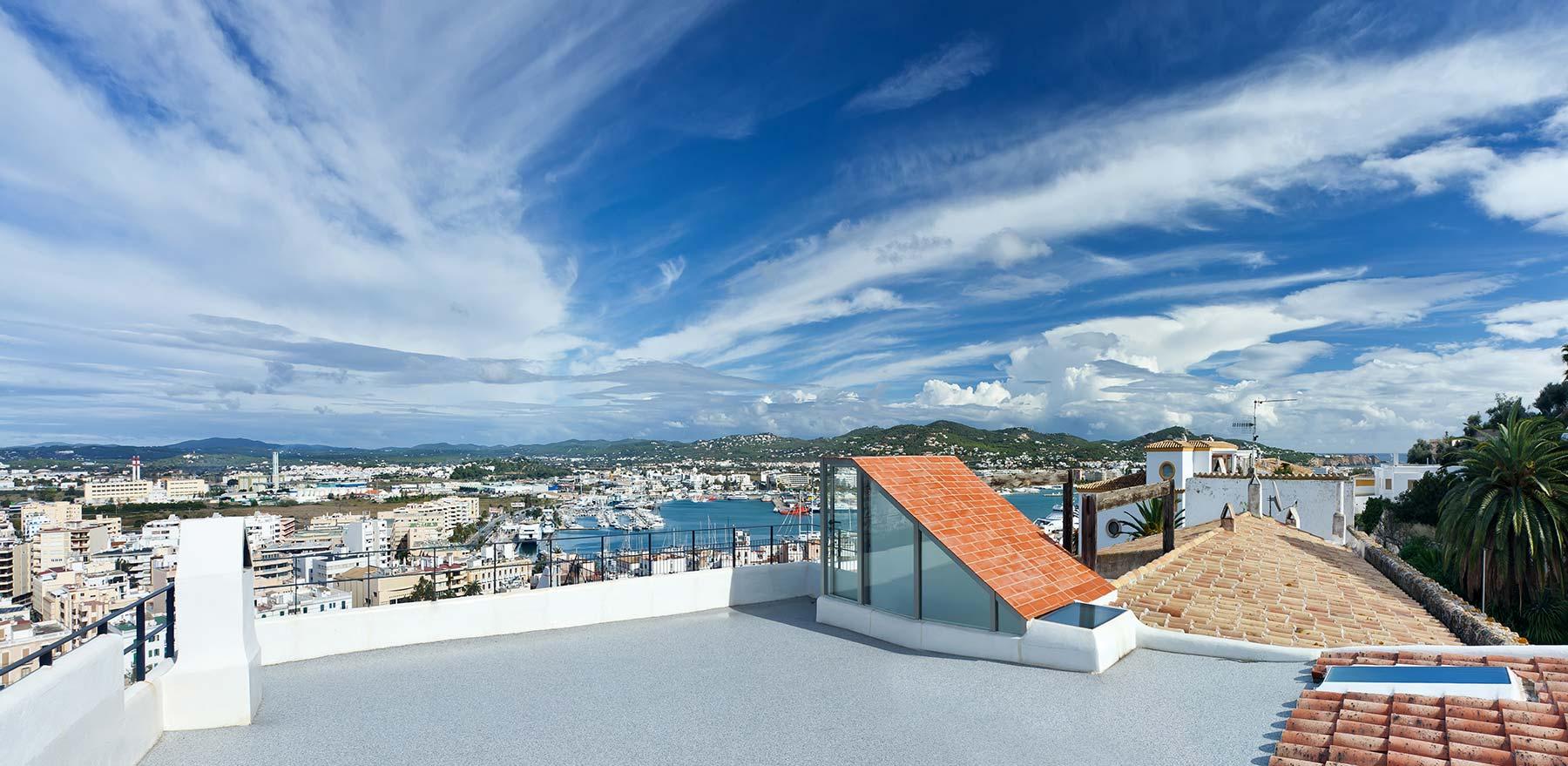 Townhouse in Ibiza Dalt Villa for sale