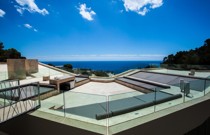 Designer Villa in Roca Lisa Ibiza with amazing views