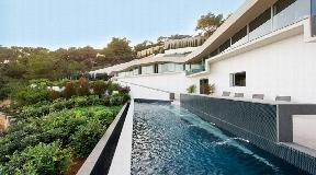 Designer Villa in Roca Lisa Ibiza with amazing views