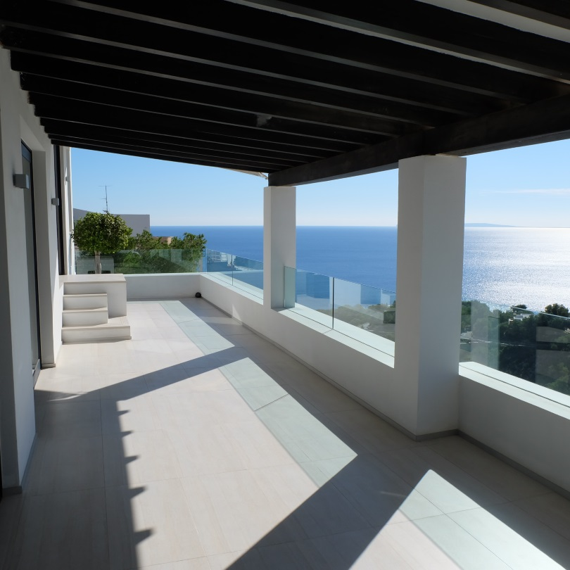 Modern villa for sale in Roca Lisa on Ibiza