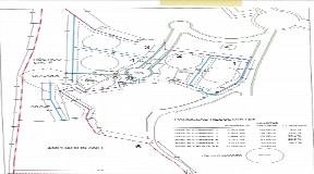 5 urban plots in Roca Lisa to build 5 villas with around 500m2