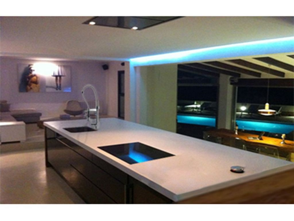 Beautiful modern real estate with wonderful views in Ibiza