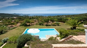 Fantastic sea view villa for sale in Es Cubells