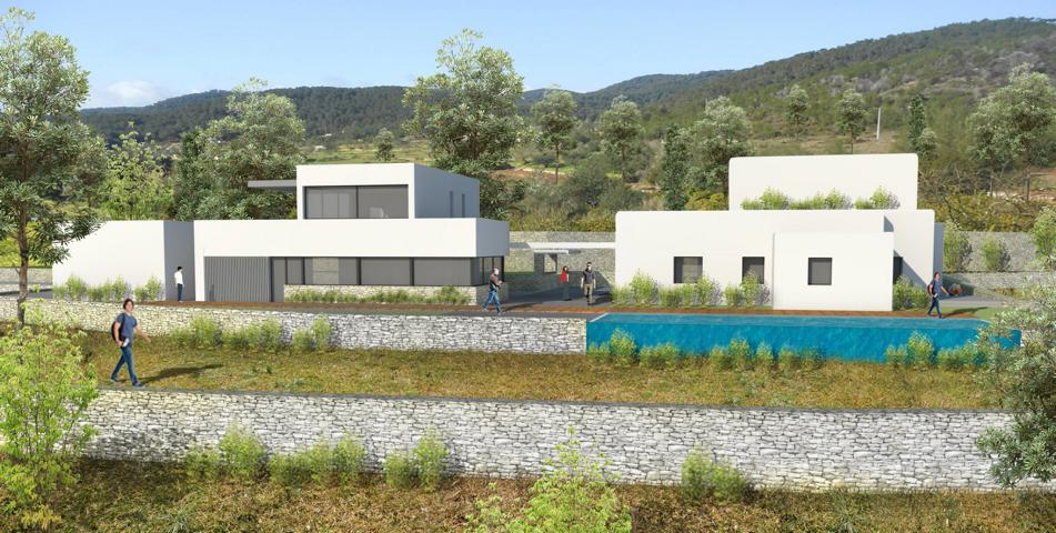 Project near Ibiza for an nice Finca with amazing views