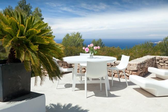 Modern Ibiza villa for rent at Cala Tarida - San Jose