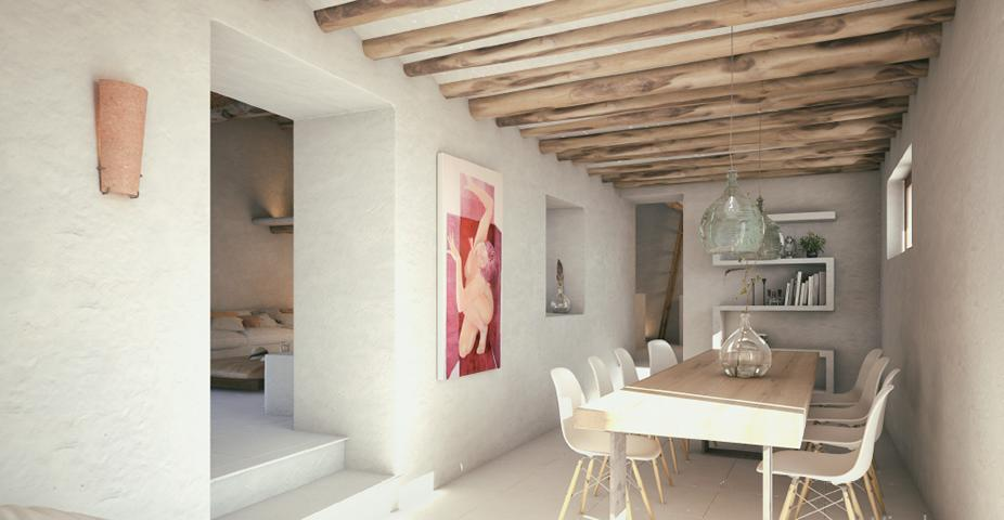 Country house for sale in San Juan with project